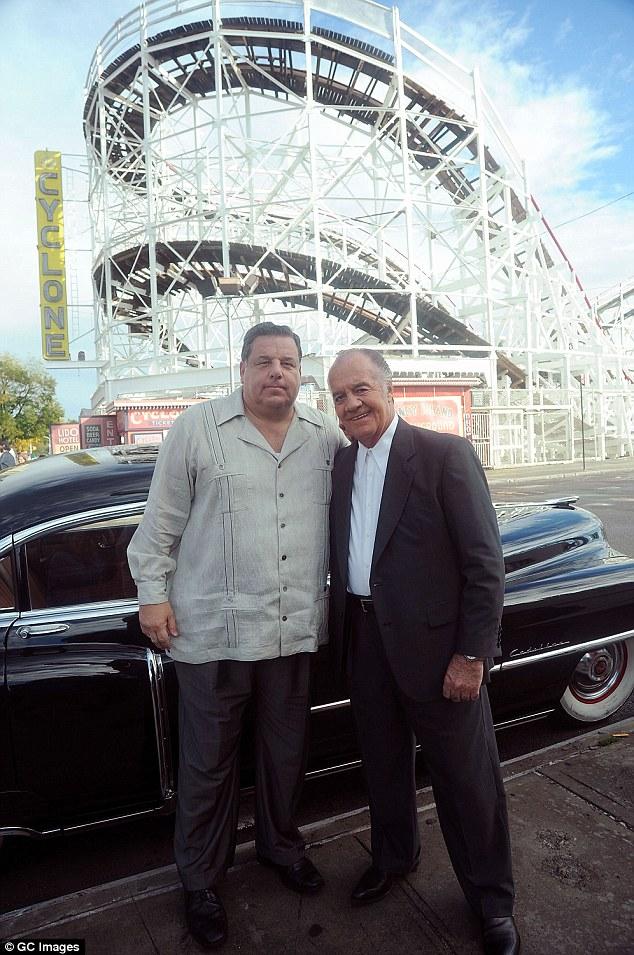 Steve Schirripa e Tony Sirico woody allen set