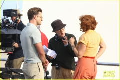 kate winslet justin timberlake e woody allen sul set