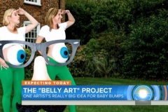 kate winslet the belly art project incinta