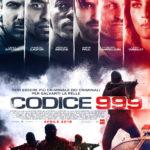 codice 999 poster italiano