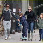 Kate Winslet with new boyfriend Ned Rocknroll in New York.