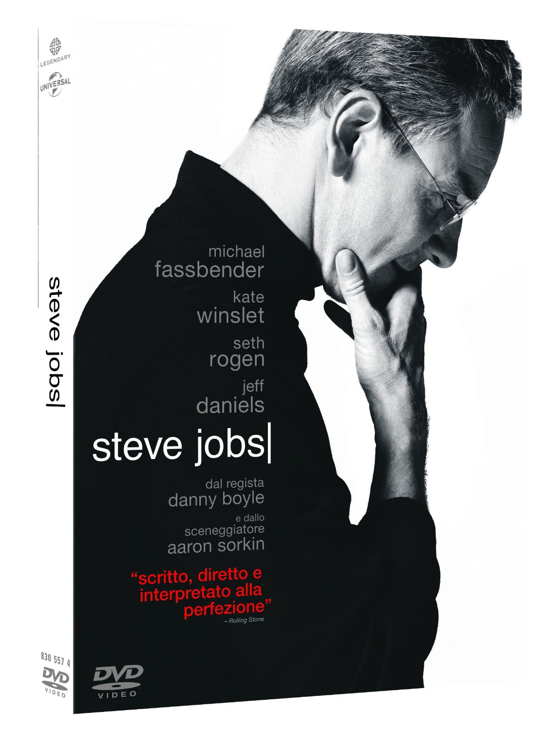 Steve Jobs in dvd e blu-ray