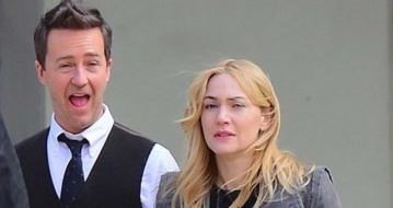 Collateral beauty: le foto di Edward Norton e Kate Winslet