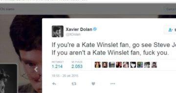 Xavier Dolan: se siete fan di Kate Winslet, correte a vedere Steve Jobs