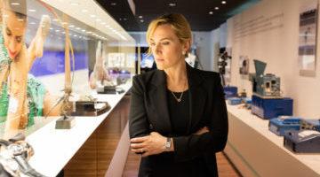 Kate Winslet visita Longines in Svizzera: le foto