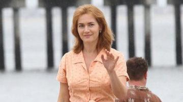 Nuove foto dal set del film di Woody Allen con Kate Winslet