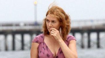 Le prime foto di Kate Winslet sul set del film di Woody Allen!