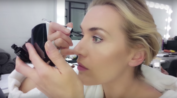 Video: Kate Winslet al trucco per Lancome