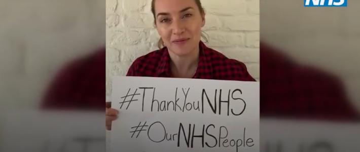 Kate Winslet nel video ThankYouNhs: un grande Grazie al personale sanitario